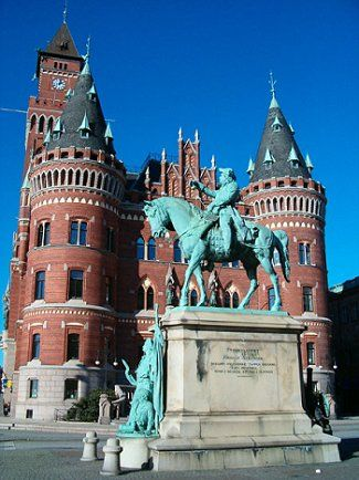 Helsingborg, Sweden. We knew that in 2 hours we would be at our cottage.