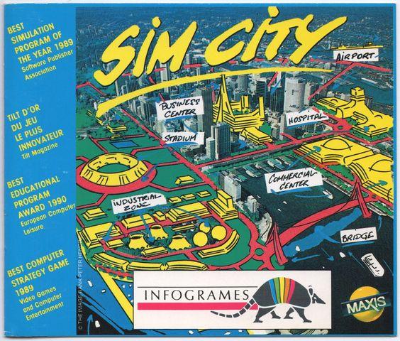 Sim City -  Commodore Amiga CDTV