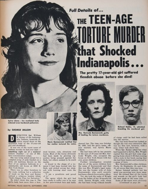 Sylvia Likens Case Pictures 9