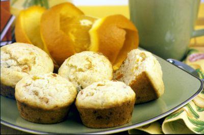 Almond Orange Marmalade Muffins