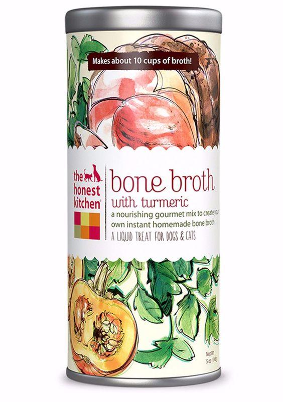 The Honest Kitchen - Bone Broth w/Turmeric