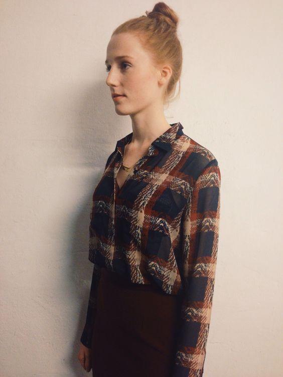 Molly Shirt Aop By : Samsøe & Samsøe