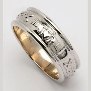 corrib claddagh wedding ring