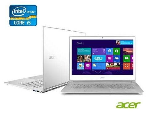 Ultrabook Acer Aspire Intel Core i7-3517U, por R$6084.09