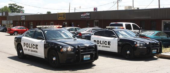 Lebanon police cars/LDR photo/Fines Massey