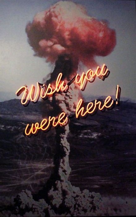 Wish you were here ! NEON.