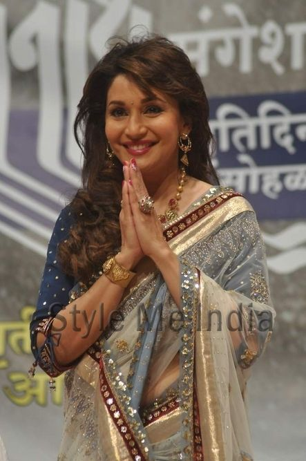 Madhuri Dixit Nene at Dinanath Mangeshkar awards ceremony http://shar.es/rSL2H via @sharethis