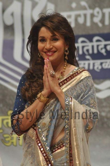 Madhuri Dixit Nene at Dinanath Mangeshkar awards ceremony http://shar.es/rSL2H via @sharethis