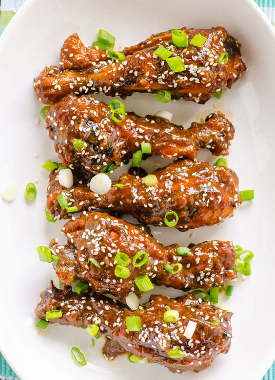 5 Healthy Slow Cooker Recipes That Will Melt In Your Mouth - Clean Slow Cooker Teriyaki Chicken Drumsticks