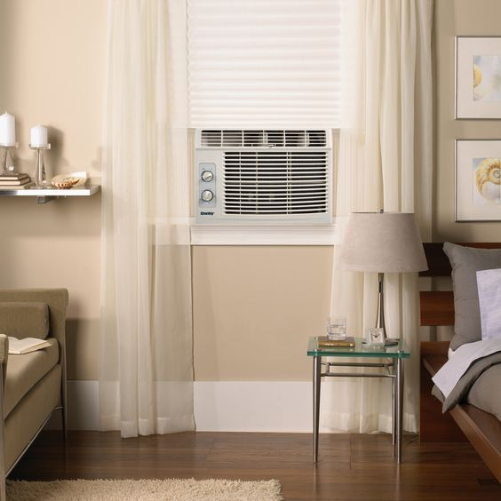 Save floor space with a danby window air conditioner for 18 inch wide window air conditioner