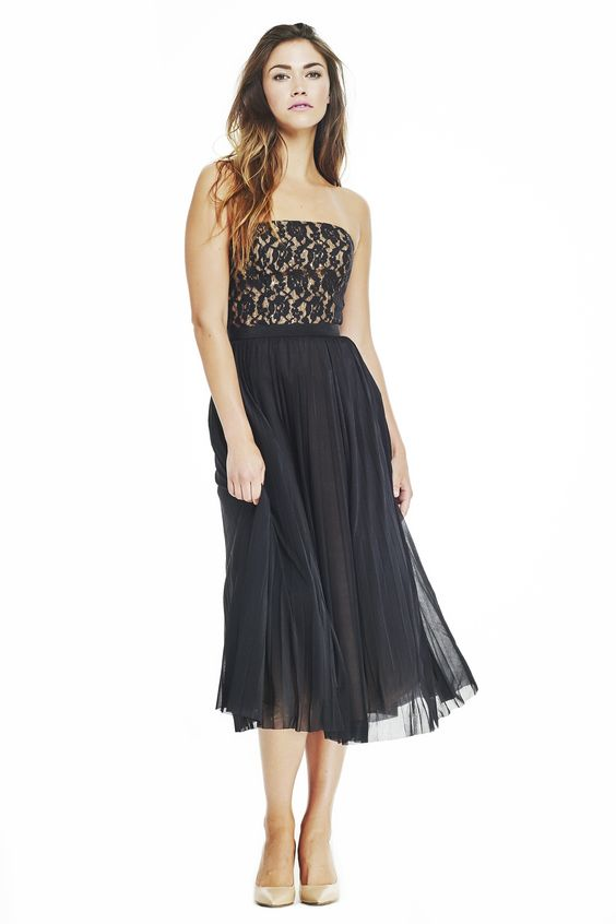 Abs Cocktail Dresses Black