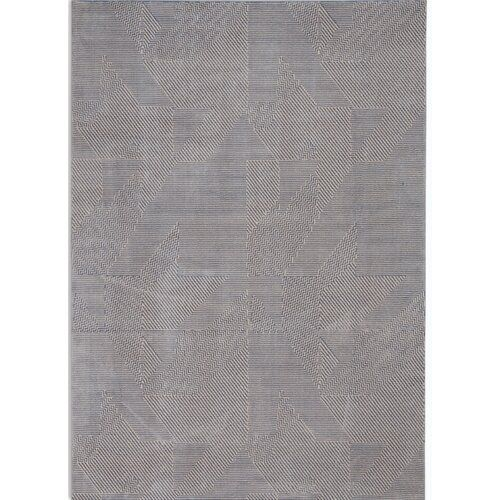 Loomed Grey Blue Rug Calvin Klein