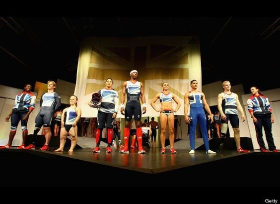 Great Britain Kits, Designed By Stella McCartney, For London Olympics