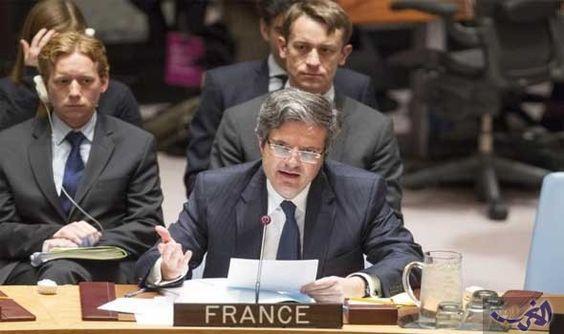 نائب السفير الفرنسي بالأمم المتحدة يقول انه…