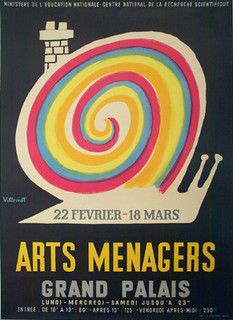 Villemot Arts Menagers by Galerie Montmartre, via Flickr
