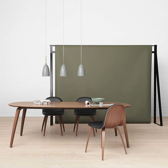 Rectangular Dining Table By Gubi Connox In 2020 Round Dining