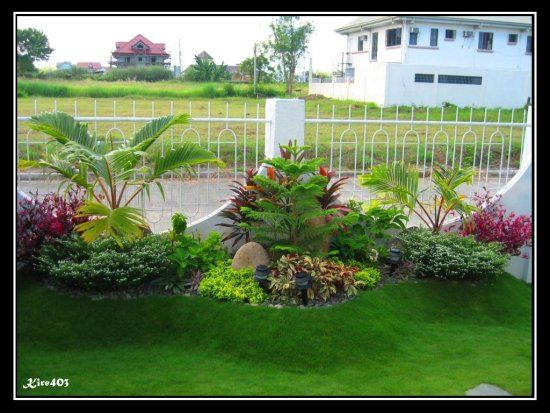 landscape ideas for front of house in philippines