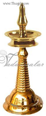 12 Quot Kerala Design Nila Vilakku Diya Nilavilakku Brass Lamp