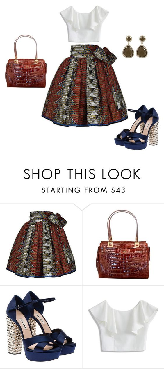 """""""Untitled #4786"""" by browneyegurl ❤ liked on Polyvore featuring Miu Miu and Chicwish"""