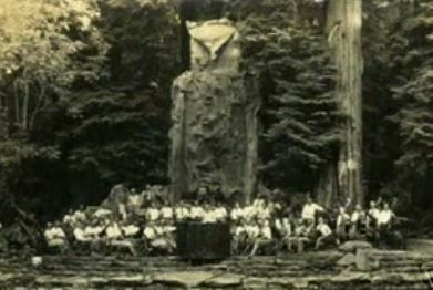 owl symbolism at Bohemian grove