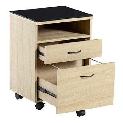 Caisson de bureau 2 tiroirs - Chambre / Bureau - Mobilier | GiFi