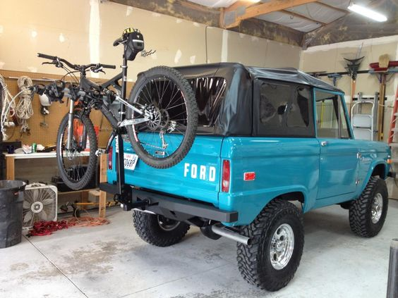Perfect blue uncut classic early ford bronco