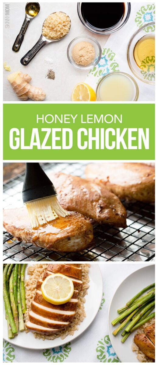 Honey lemon, Glazed chicken and Honey on Pinterest