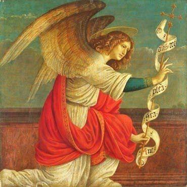 angel painting renaissance - photo #15