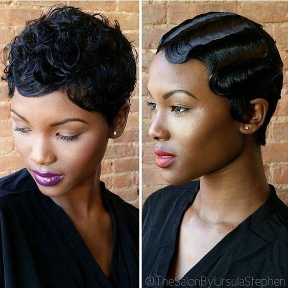 HAIRSPRIATION| Love the versatility of this #pixiecut✂️ wig, styled by…