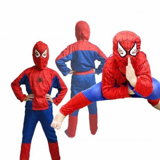 لباس سبايدرمان للأطفال للبيع على الأنترنيت في المغرب تخفيضات على الأنترنيت في Baby Halloween Costumes Newborn Twin Halloween Costumes Boys Spiderman Costume