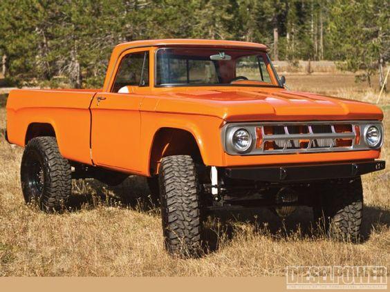 '68 Dodge W200 4x4 truck