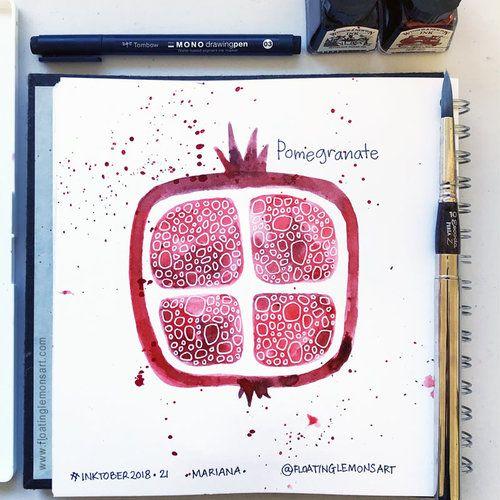 Pin On Pomegranates