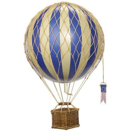 Amazon.com: Authentic Models Light Hot Air Balloon in True Green: Home & Kitchen