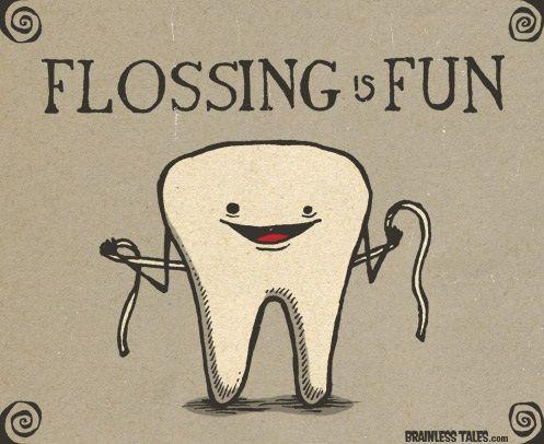 Dentaltown - Flossing is fun!