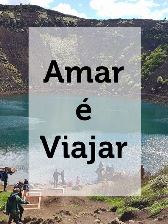 [Frases para Viajar] Amara é viajar
