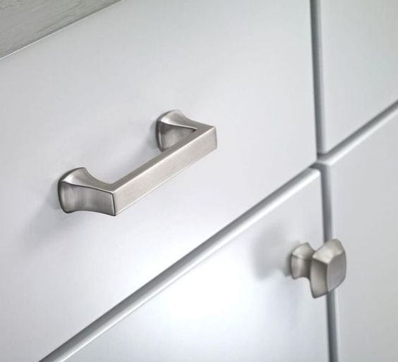 Kitchen Cabinet Pulls Brushed Nickel: Brushed Nickel Cabinet Knobs And Pulls