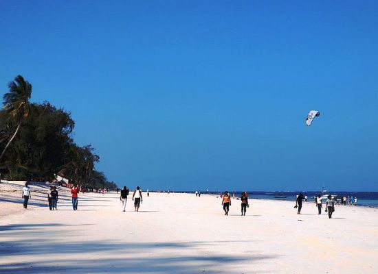 Diani Beach in Kenya is one of the Best Beaches in Africa