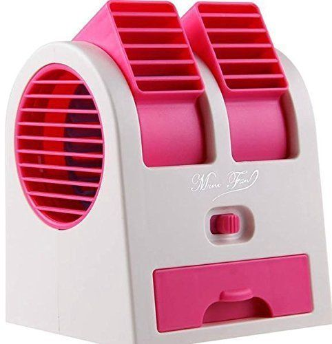 Mother Glory Dual Bladeless Mini Fan Air Conditioner Water Air