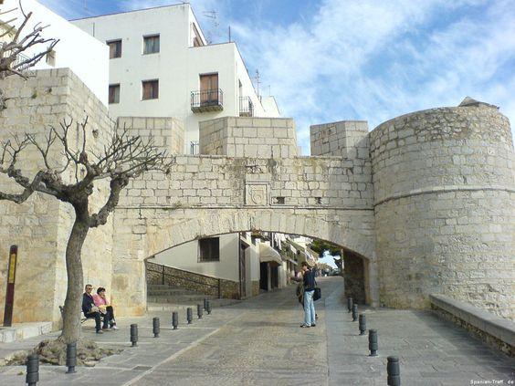 Stadttor von Peñíscola - Spanien - Spain - España
