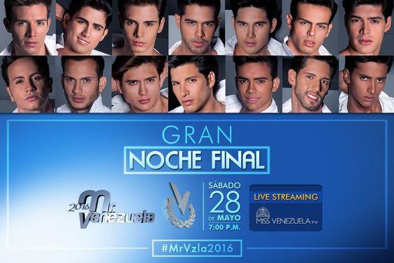 Transmisión en directo - Mister Venezuela 2016