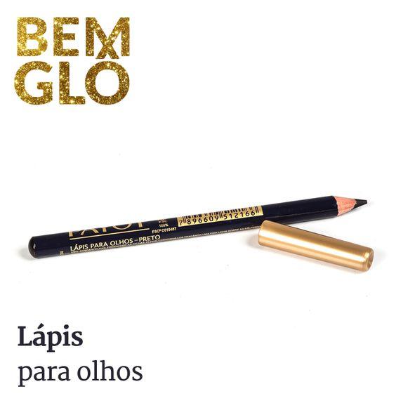 Acentue a beleza dos olhos com um lápis de qualidade como este aqui! #bemglo #make #lapisolhos