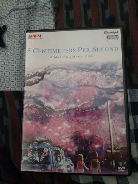 5 Centimeters Per Second (DVD)