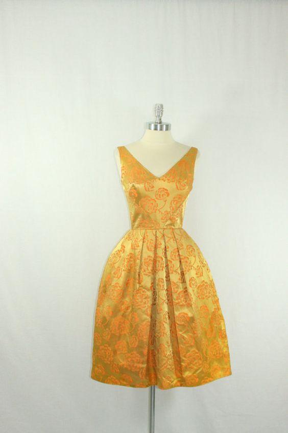 1950's Vintage Dress  by VintageFrocksOfFancy
