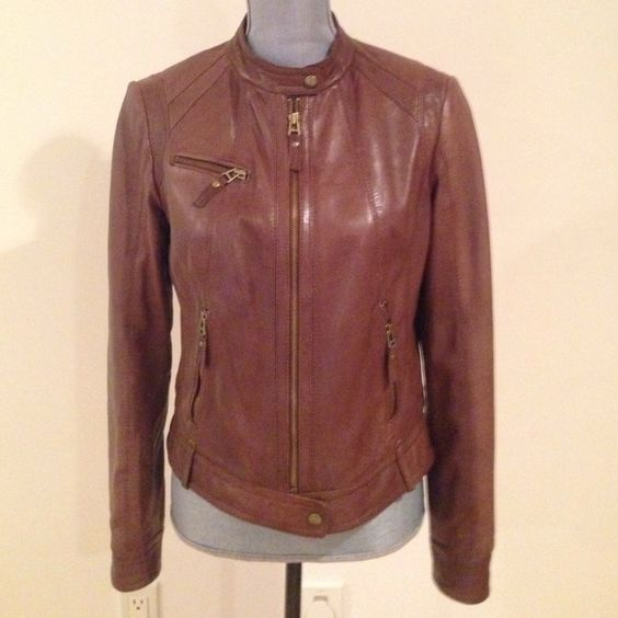 Marc New York Leather Bomber jacket | Coats Color meanings and Ea