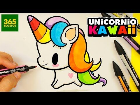 Como Dibujar Un Unicornio Kawaii Lol Unicornio Kawaii Super