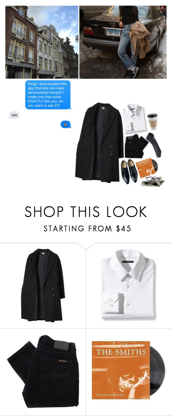 """""""Sal"""" by manfight ❤ liked on Polyvore featuring Les Prairies de Paris, Theory, Nudie Jeans Co., Lanvin and OUTRAGE"""
