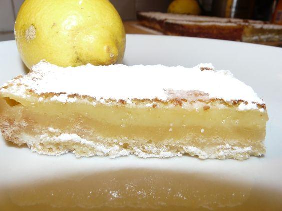 Recettes d'une mère de famille nombreuse: Lemon Bars de Martha Stewart (Carrés au citron)