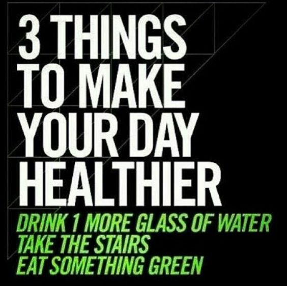 Make your day healthier