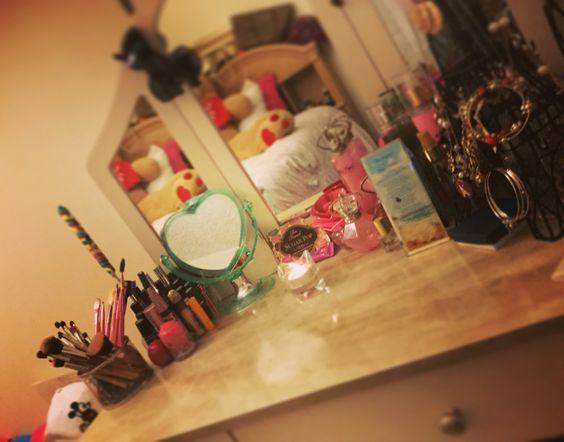 My vanity ☁️