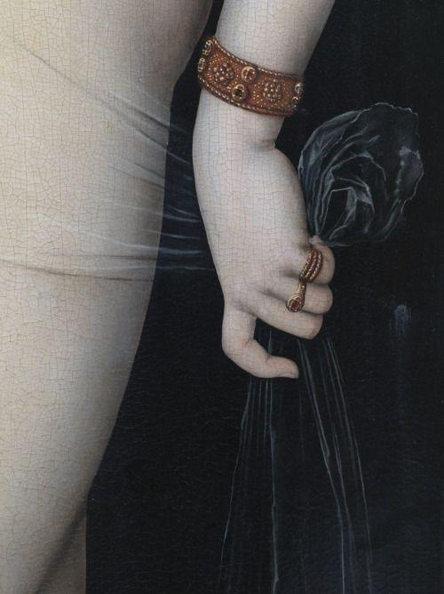 hermosanikita:  Reinhard Görner, Venus und Amor, Detail (II), 2008LUCAS CRANACH D.Ä., 1530, GEMÄLDEGALERIE BERLIN